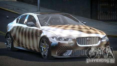 Jaguar XE GST S7 для GTA 4