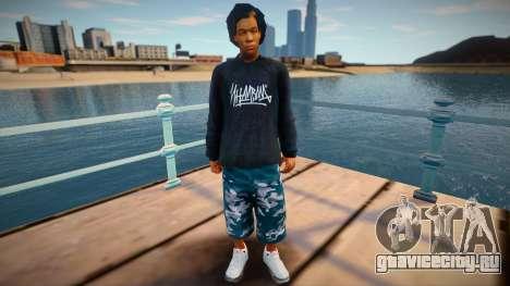 Wiz Khalifa Individ для GTA San Andreas