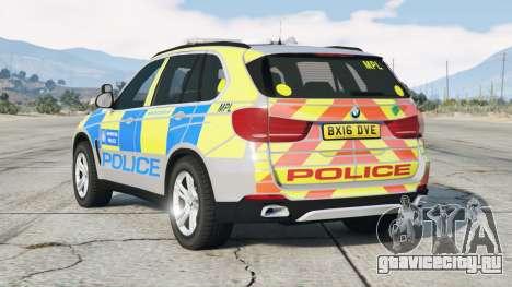 BMW X5 (F15) 2015〡Metropolitan Police