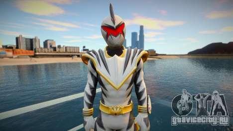 White Dino Ranger для GTA San Andreas