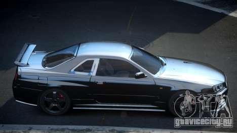 Nissan Skyline R34 PSI-U для GTA 4