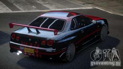 Nissan Skyline R34 PSI-S S7 для GTA 4