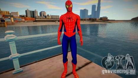 Spiderman 2002 Yellow Eye Optional для GTA San Andreas