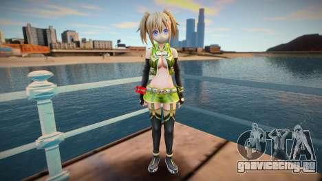 Megadimension Neptunia Collab Makers - GodEat v4 для GTA San Andreas
