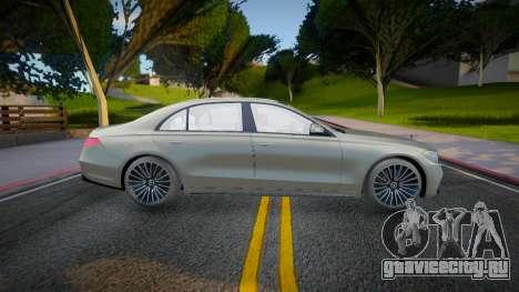 Mercedes-Benz S500 4matic w223 для GTA San Andreas