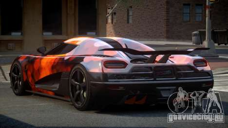 Koenigsegg Agera US S8 для GTA 4