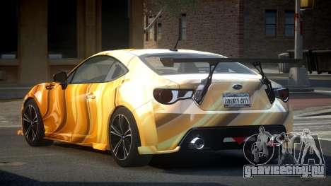 Subaru BRZ SP-U S2 для GTA 4