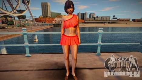 Nagisa Niagra для GTA San Andreas