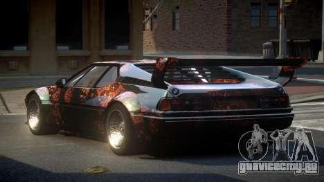 BMW M1 IRS S10 для GTA 4