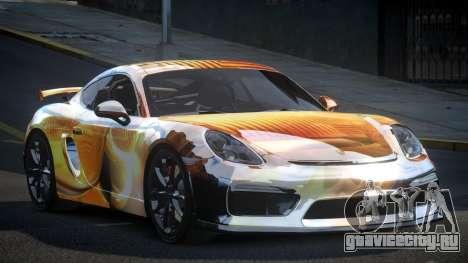 Porsche 718 Cayman GT4 S4 для GTA 4
