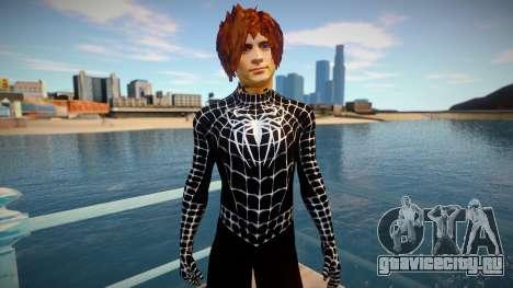 Spiderman 2007 (Black-Unmask) для GTA San Andreas