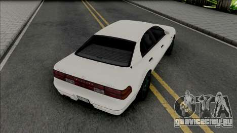 Karin Intruder [SA Plate] для GTA San Andreas