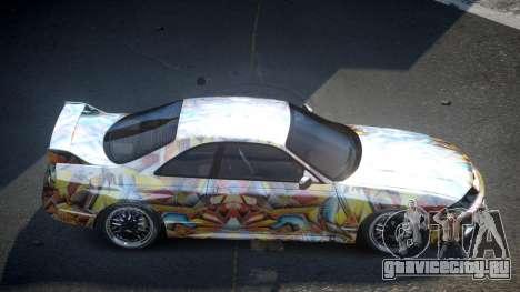 Nissan Skyline R33 US S4 для GTA 4