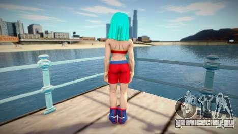 Female Character from Dragon Ball Xenoverse для GTA San Andreas