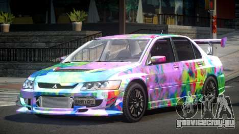 Mitsubishi Evo 8 U-Style S5 для GTA 4