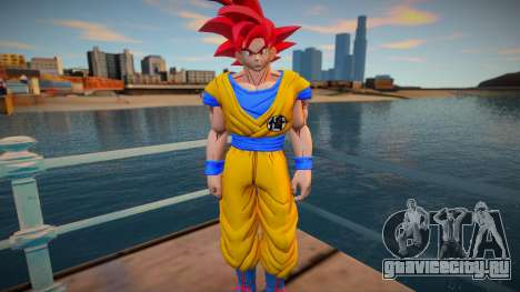 Goku God Red для GTA San Andreas