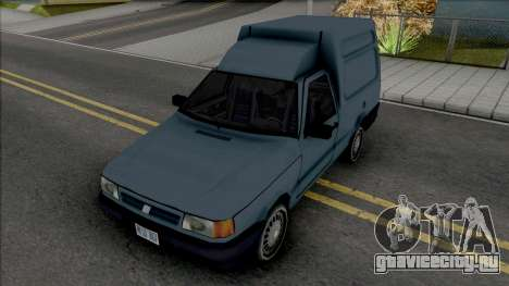 Fiat Fiorino Van [VehFuncs] для GTA San Andreas
