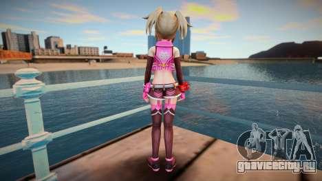 Megadimension Neptunia Collab Makers - GodEat v3 для GTA San Andreas