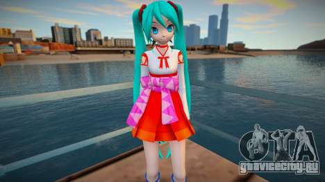 PDFT Hatsune Miku Miko для GTA San Andreas