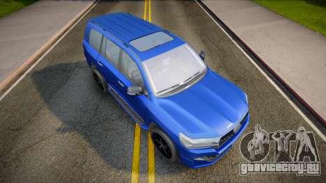 Toyota Land Cruiser 200 2021 для GTA San Andreas