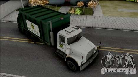 GTA V Brute Tipper Trash для GTA San Andreas
