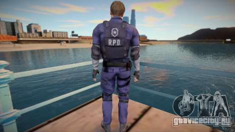 Leon Kennedy From RE2:Remake для GTA San Andreas