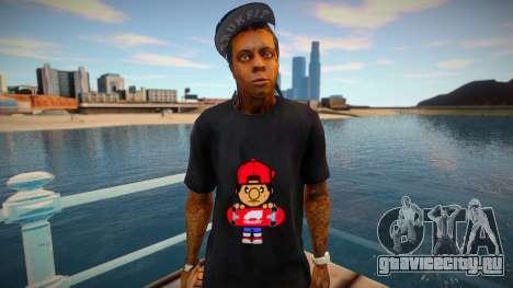Lil Wayne (good skin) для GTA San Andreas