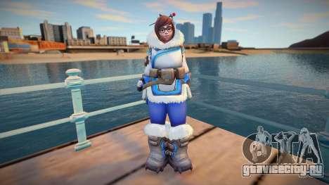 Mei from Overwatch для GTA San Andreas