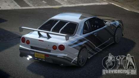 Nissan Skyline R34 PSI-S S2 для GTA 4