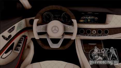 Mercedes-Maybach S650 Black-Red Tuning для GTA San Andreas