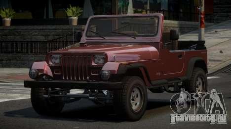 Jeep Wrangler BS для GTA 4