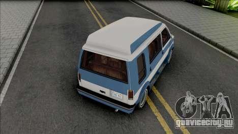 Moonbeam (Conversion Van) для GTA San Andreas