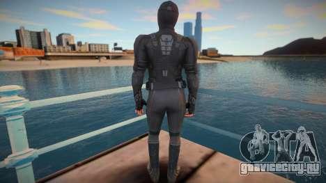 Spiderman Stealth Suit для GTA San Andreas
