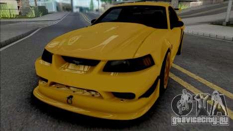 Ford Mustang SVT Cobra R 2000 [IVF ADB VehFuncs] для GTA San Andreas