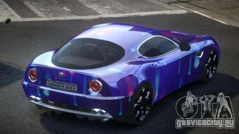 Alfa Romeo 8C US S4 для GTA 4