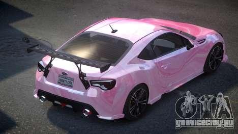 Subaru BRZ SP-U S1 для GTA 4