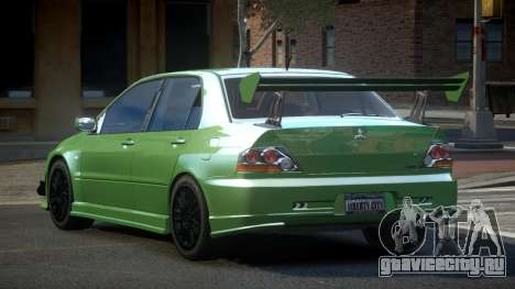 Mitsubishi Evo 8 U-Style для GTA 4