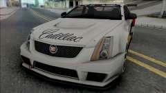 Cadillac CTS-V Coupe 2011 Race Car для GTA San Andreas