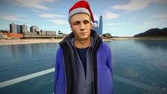 New Year man для GTA San Andreas