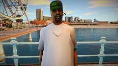 New Fam 2 skin для GTA San Andreas