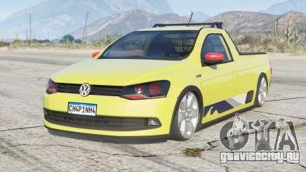 Volkswagen Saveiro CS Surf 2015〡lowered〡add-on для GTA 5