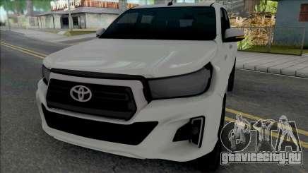 Toyota Hilux 2019 для GTA San Andreas