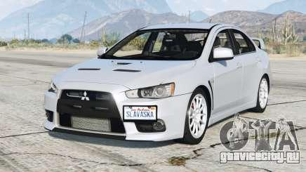 Mitsubishi Lancer Evolution X 2015〡add-on для GTA 5