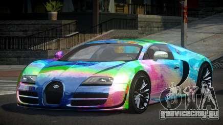 Bugatti Veyron PSI-R S2 для GTA 4