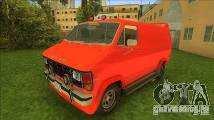 Dodge Ram Van 1985 для GTA Vice City