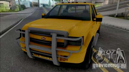 GTA V Vapid Sadler [VehFuncs] для GTA San Andreas