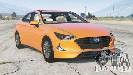 Hyundai Sonata (DN8) 2019 v2.0 для GTA 5