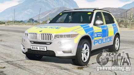 BMW X5 (F15) 2015〡Metropolitan Police для GTA 5