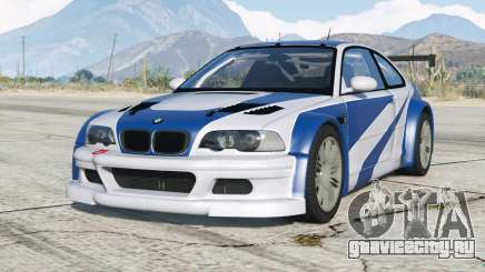 BMW M3 GTR (E46) Most Wanted〡add-on v2.0 для GTA 5