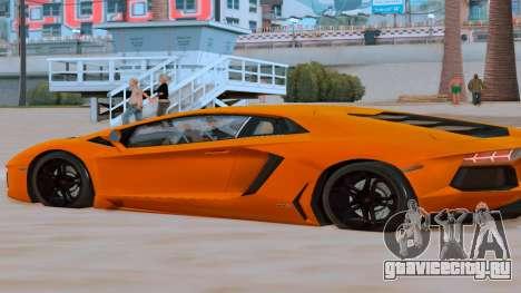 Lamborghini Aventador (Cheetah) для GTA San Andreas